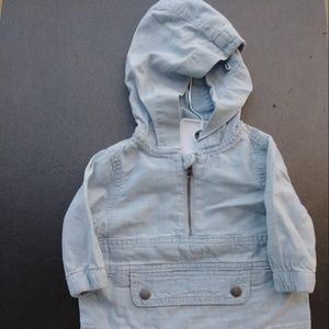Gymboree Baby Hooded Pullover 100% Cotton
